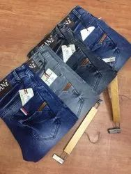 Knitted Denim Jeans