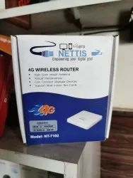 Wireless or Wi-Fi 1 Nettis 4G Network Router