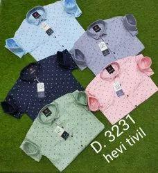 Men Plain Print shirt, Size: M L Xl