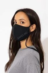 Safex Inc. 2 Layer Cotton Mask With Adjustable Loop And Neck Hanging