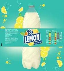 Soda Bottle Label