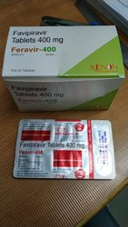Feravir-400 Feravir Favipiravir 400 Mg Tablets, 10x10, Treatment: Covid-19