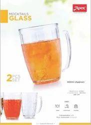 Plastic Transparent Mocktail Glass, For Home
