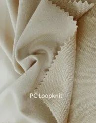 PC Loop Knit Knitted Fabric