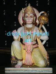 White Marble Hanuman Ji