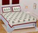 Jaipuri Pure Cotton Printed Bedsheet