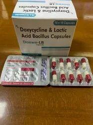 Doxwe- LB 100mg Doxycycline & Lactic Acid Bacillus Capsules