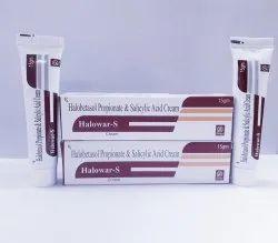 Halobetasol Propionate and salicylic acid cream