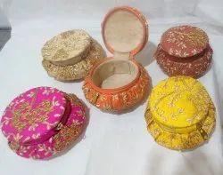 Jewellery Box Matki Shape