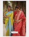 Organic Banarasi Lichi Silk Saree