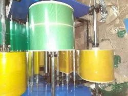 Coted Printed Yellow Salpatta Paper Plates Raw Material, Packaging Type: Roll And Sheet, 100 To 300
