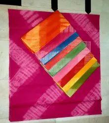 Pure Cotton Batik Sarees, Saree Width: 44 Inch