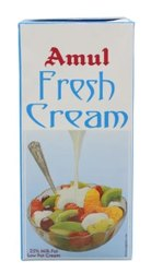Dairy Product Cool Place Amul Fresh Cream, For Cooking, Quantity Per Pack: 1 Litre