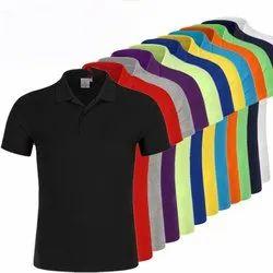 Standard Basic Promotional Cotton Collar T-shirts