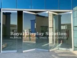 Toughened Transparent Glass Partition, For Office