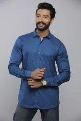 TECIDO Cotton Mens Casual Printed Shirt, Size: S.M.L.XL.XXL