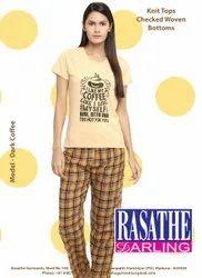 Rasathe darling Women Pyjama Set