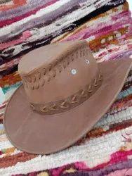 Cowboy Leather Hat