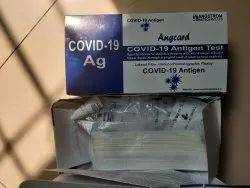 Angcard Covid 19 Antigen Rapid Test Kit, ICMR Approved
