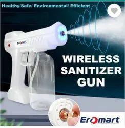 Wireless sanitiser sprayer gun