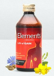 Elements Wellness Livagain Syrup, 200 Ml