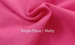 Single Pique Knitted Fabric