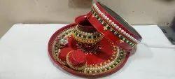 Karvah Choth Pooja Thali Set