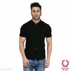 Round Mens Casual Shirts