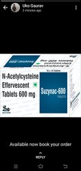 N Acetylcysteine 600 Mg Effervescent Tablet