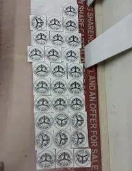 Multicolor Digital Printing Mgnrega Logo Tiles, Thickness: 6 - 8 mm, Size: Small
