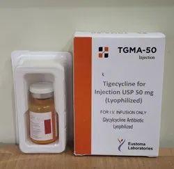 Tigecycline 50 Mg Injection, Single Pack