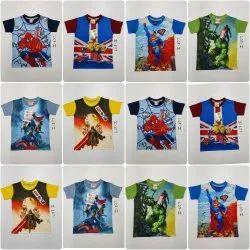 Boys Sublimation Comic T-Shirt
