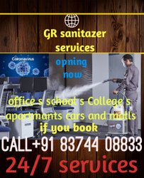 Home Cleaning And Sanitization Services
