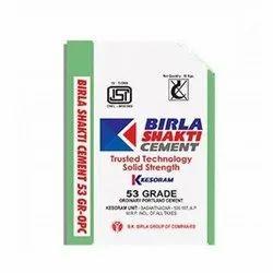 Grey Birla Shakti OPC53 Cement, Packaging Size: 50KG