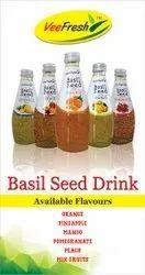 Glass Bottle Veefresh Basil Seeds Drink, Packaging Size: 300ml