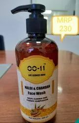 Mineral Yellow Haldi Chandan Face Wash, Age Group: Adults, Packaging Size: 300 Ml & 100 Ml