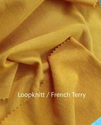 French Terry Knitted Fabric