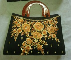 Silk Clothes Ladies Folder Bag