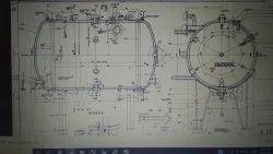 Pressure Vessle Design and drafting services