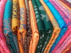 Uddup Printed Cheap fancy sarees for resellers, With blouse piece, 6.5