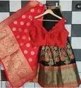 Pure Banarasi Silk Lehenga Set