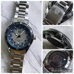 Men Round TAG Heuer Automatic Watches, For Daily