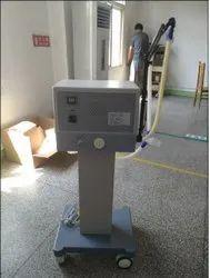 Pneumatically Driven Electrically Controlled Ventilator