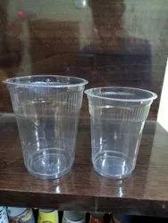 Transparent Disposable Plastic Glass