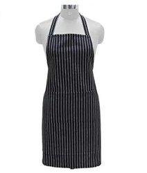 棉黑色厨房围裙,尺寸:大