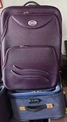 Polyester Trolley Luggage Bags, Size: 24,28