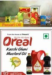 Oreal Pansari Kachi Dhani Mustared Oil
