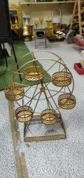 Golden Finish Decorative Jhula, For Gifts