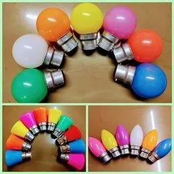 LED Colour 0.5w Bulb