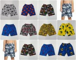 Cotton Multicolor Kids Boys Printed shorts, Size: 2 years to 12 years